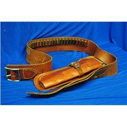 Leather Holster and Soft Pistol Case