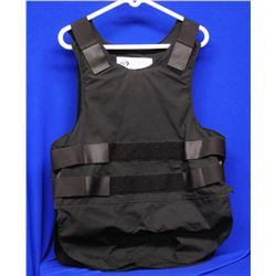 PSP Size 42R Armour Vest and leather shooting mitt