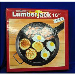 """Lumberjack 16"""" Steel Skillet"""