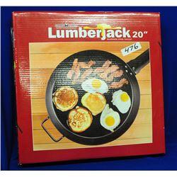 """Lumberjack 20"""" Steel Skillet"""