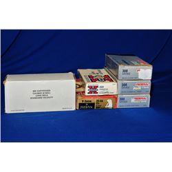 Box Lot Mixed Rifle Ammo