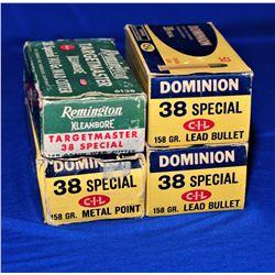 Vintage 38 Special Ammo