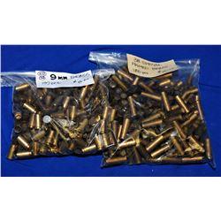 Box Lot Handgun Brass