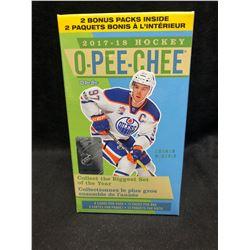12017-18 Upper Deck O-Pee-Chee Hockey 12ct Blaster Box