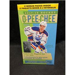 2017-18 Upper Deck O-Pee-Chee Hockey 12ct Blaster Box
