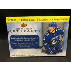 2018-19 Upper Deck ARTIFACTS Hockey NHL Trading Cards 35ct Blaster Box