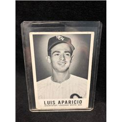 1960 Leaf Baseball Card #1 Luis Aparicio