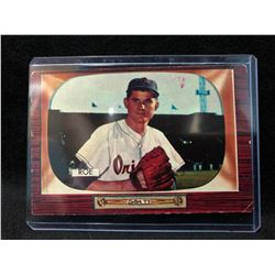 1955 Bowman Baseball Card #216 Preacher Roe