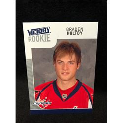 2009-10 Upper Deck Victory Braden Holtby Rookie #340