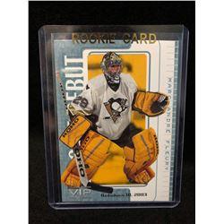 2003-04 ITG VIP Rookie Debut Penguins Hockey Card #32 Marc-Andre Fleury
