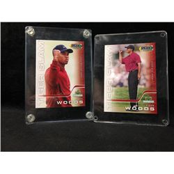 2000 UPPER DECK COLLECTIBLES PLAY MAKERS TIGER WOODS GOLF CARD LOT