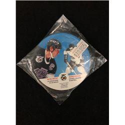 1991-92 Kraft Peanut Butter Disc #65 Wayne Gretzky & Maurice Richard  **RARE**