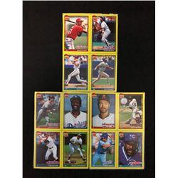 """1991 TOPPS """"DESERT SHIELD"""" BASEBALL CARD LOT"""