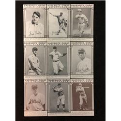 1977 Exhibit ESCO Baseball's Greats Hall of Fame Card Lot