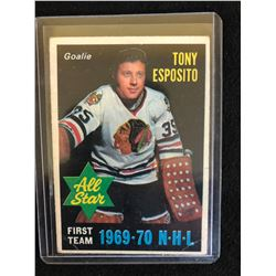 1970-71 O-Pee-Chee Tony Esposito First Team All Star #234