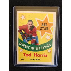 1969-70 O-Pee-Chee TED HARRIS *All-Star* #219