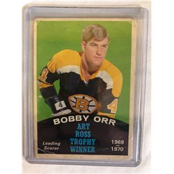 1970-71 O-Pee-Chee #249 Bobby Orr Art Ross Trophy Winner