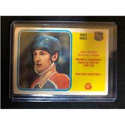 1982-83 O-Pee-Chee NHL Scoring Leaders #243 Wayne Gretzky