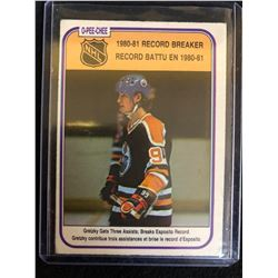 1980-81 O-PEE-CHEE #392 Record Breaker Wayne Gretzky