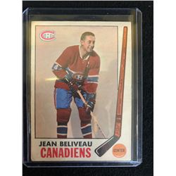 1969-70 TOPPS #10 JEAN BELIVEAU