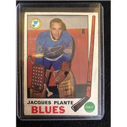 1969-70 TOPPS #180 Jacques Plante