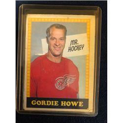 1969-70 O-Pee-Chee Mr. Hockey GORDIE HOWE