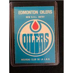 1979 O-PEE-CHEE #82 OILERS CHECKLIST