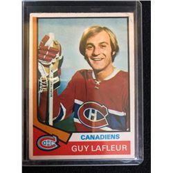 1974-75 O-Pee-Chee #232 Guy Lafleur