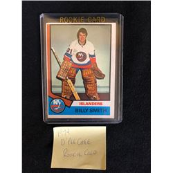 1974-75 O-Pee-Chee #82 Billy Smith Islanders