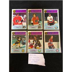 1975 OPC NHL 1ST TEAM ALL-STARS SUB SET BREAK