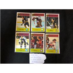 1975 OPC NHL 2ND TEAM ALL-STARS SUB SET BREAK
