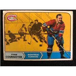 1969 TOPPS NO. 67 YVON CORNOYER