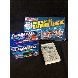 BULK BASEBALL CARD BOX LOT