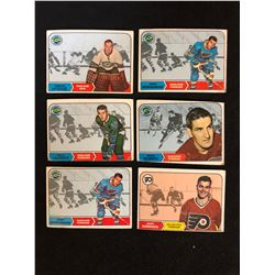 1969 TOPPS HOCKEY CARD LOT
