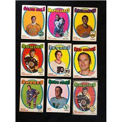 1971 OPC HOCKEY CARD LOT (MINT)