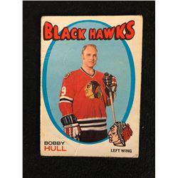 1971 OPC HOCKEY CARD BOBBY HULL