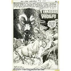 Gil Kane and Tony DeZuniga - All-Star Western #8,