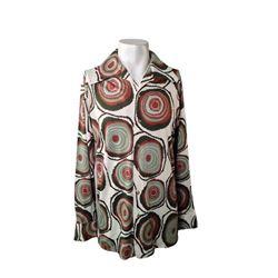 Elvis Presley Personally Worn 70's Print Dress Shirt Music Memorabilia