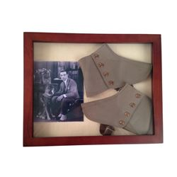 Rudolph Valentino Mounted Spats