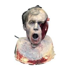 The Walking Dead (2010-) SFX Zombie Creature Head Movie Props