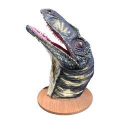 Jurassic World Raptor Head Movie Props