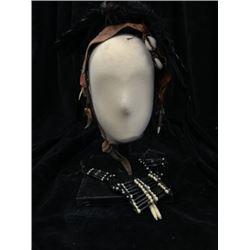 The Lone Ranger Tonto (Johnny Depp) Headdress Movie Props
