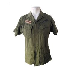 X-Men: Days of Future Past Mystique (Jennifer Lawrence) Military Shirt Movie Costumes