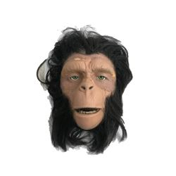 Planet of the Apes TV (1974) Chimp Makeup Display