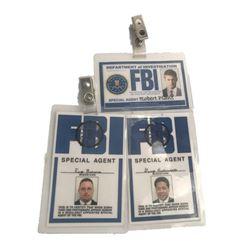 The X-Files TV FBI Badges