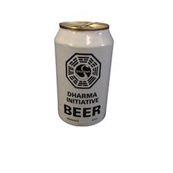 Lost TV Dharma Beer Can Prop
