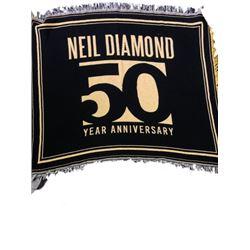 Tom Jones Neil Diamond Collectors Blanket