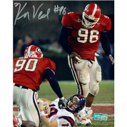 Ken Veal Signed Georgia 8x10 Photo (Radtke COA)