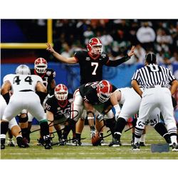 "Fernando Velasco Signed Georgia 8x10 Photo Inscribed ""Go Dawgs!"" (Radtke COA)"