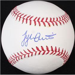 Tyler Austin Signed OML Baseball (Radtke)